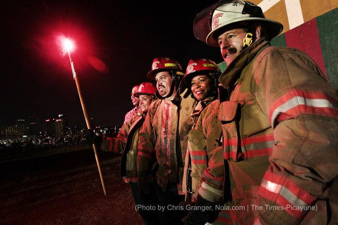 Algiers Bonfire 2014