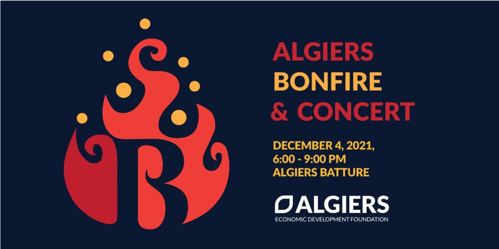 Algiers Bonfire and Concert banner